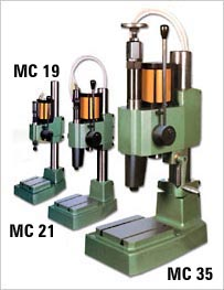 impact press, pneumatic press, steel stamps, marking dies